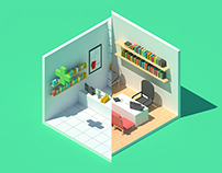 Isometric Medical World