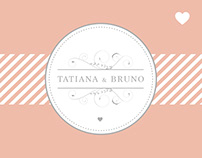 T + B Wedding - Invitations & Supplemental Materials