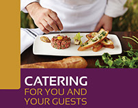 Catering Brochure Template - 20 Pages