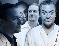Treinando no Photoshop #01 - Mike Patton