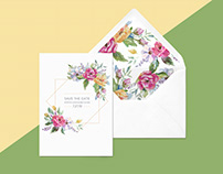 Save the Date Stationery