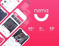 Nema Dating App UI Kit
