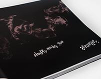 The Dark Knight Typography Script Book