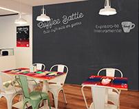 Buondi Coffee Battle Wall&Sticker | Concept Design