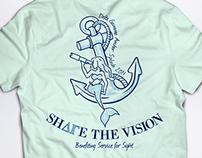 Anchor Splash - Shirt Design