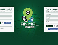 Animal Space - Logo and Web Site Layout