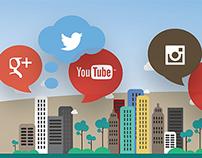 Vauxhall Adam Social Media Infographic