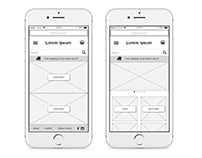 Prototyping Exercise | Axure