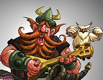 THE MUSICAL VIKING