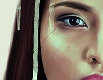 """Digital Painting: """"Bleakness"""""""