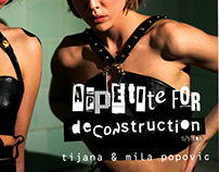 new collection Appetite for DeCONstruction s/s 2017