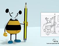 Bzzz crayon