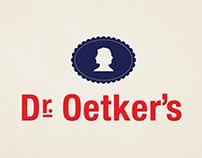 Dr. Oetker's Rebrand