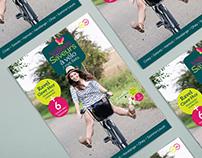 Condroz - Carte + fiches Ravel Vélo 2016