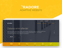 Radore Adaptive Website by SHERPA