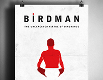 Alternative Movie Posters - Birdman, Whiplash...
