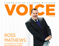 University of La Verne VOICE Magazine Fall 2014
