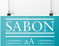 Sabon poster