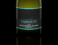 Elephant Hill - 3D rendered wine bottle