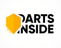 'Darts Inside' Logo