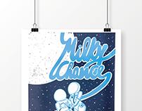 Milky Chance - Silkscreen Poster