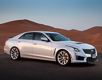 Cadillac CTS-V GM Middle East PR teaser campaign