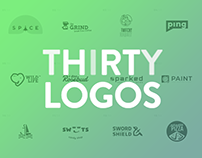 THIRTY LOGOS 2017 - DIGITAL NOMAD edition