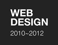 WEB DESIGN. 2010~2012
