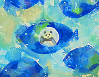 fish panda [personal work2012]