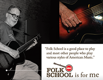 Folk School is for Me Campaign