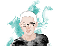 Portrait Illustration - Editorial Design