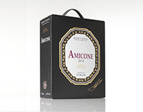 Förpackningsdesign Amicone - Apricot