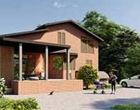 Architectural project | Villa in Kharkov