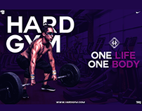 Hard Gym Poster