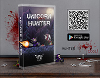 Advertising for the Unicorn Hunter game