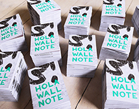 free Hola Wall Note