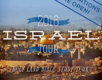 2016 Israel Tour event site