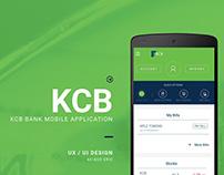 KCB Mobile App Design