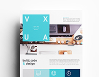 Vuxa - Corporate Flyer Templates
