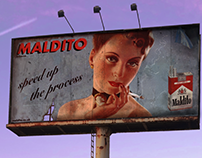 Maldito Billboard Advertisement