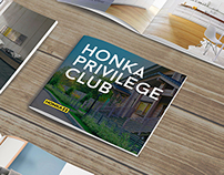 Honka Privilege Club — Brochure