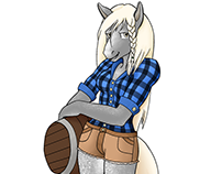 Draw: Hayley the Horse