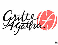 Gritte Agatha Logo & Official Youtube Channel Banner