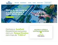 Website Euroamérica Construtora