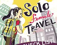 Solo Female Travel Infographic