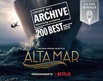 Alta Mar (High Seas) - poster / Netflix