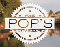POP's // logo and identity