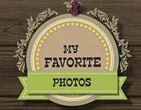 Favorite Photos On The Wall