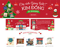 Kim Đồng Publishing House landing pages