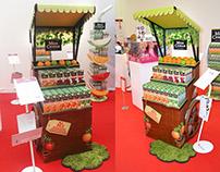 display for popai russia 2014 for company Coca Cola